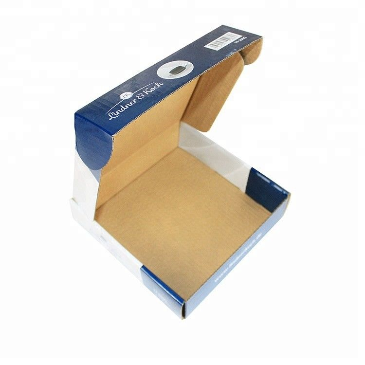 3 Layer Custom Corrugated Mailer Boxes Recycled Materials With Strong Tensile Force