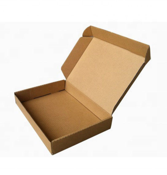 Smooth Cut Corrugated Paper Box For Mailing With Custom Design Service